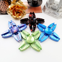 Hot Selling EDC Toys Triangular Hand Spinner Metal Professional Fidget Spinner Autism And ADHD Hand
