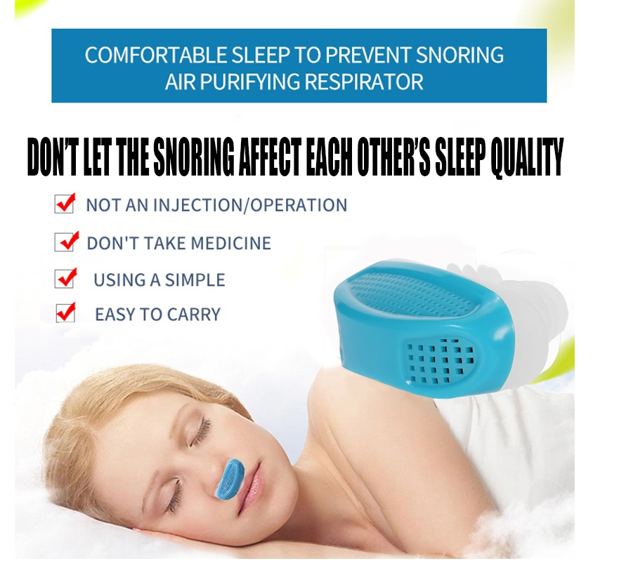 Health Care Relieve Snoring Nose Snore Stopping Breathing Apparatus Guard Sleeping Aid Mini Snoring Device