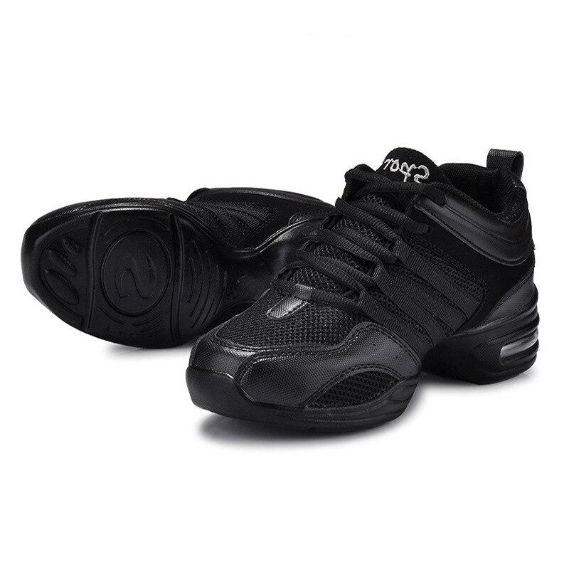 Mujeres Jazz hip hop zapatos de baile latino zapatos zapatillas deportivas  característica suela de goma respiración malla Jazz 1310 en Zapatillas de  baile ... f1774f4233c