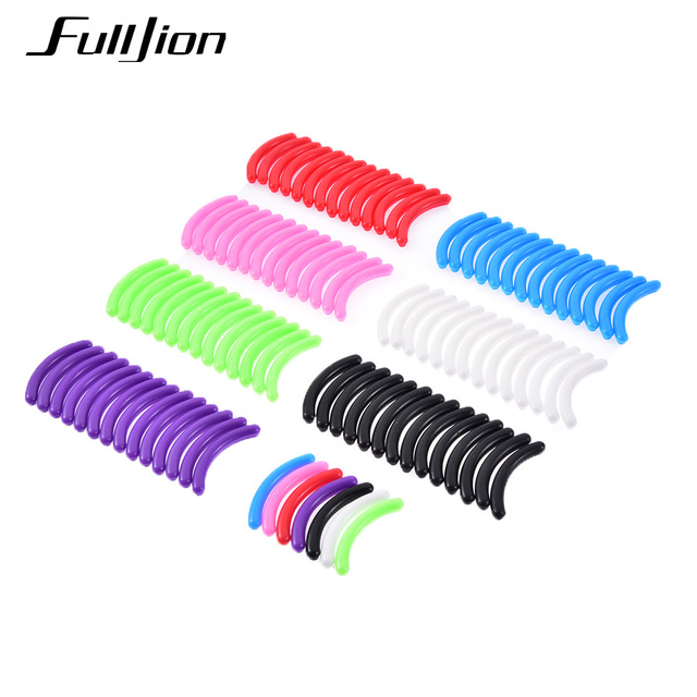 Fulljion 15pcs/set Eyelashes Curler Replacement Pads For Eyelash Curling High Elastic Rubber Pad Beauty Tools Makeup Replacement
