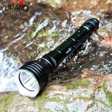 YUPARD dalış 100m Sualtı dalgıç El Feneri Torch XM L2 led T6 beyaz sarı işık Lambası Su Geçirmez 18650 şarj edilebilir pil