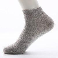 Для мужчин s No Show низкие носки 6 упак. хлопок тонкий Повседневное Нескользящие невидимые сетчатые носки для Для мужчин плоским лодка линия Ра