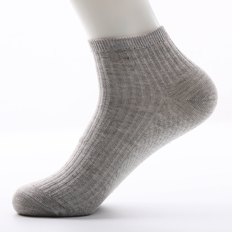 Mens No Show Low Cut Socks 6 Pack Cotton Thin Casual Non Slip Invisible Mesh Socks for Men Flat Boat Line Size 6-11