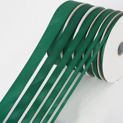 5 ярдов/рулон корсажные атласные ленты для свадьбы, украшения для рождественской вечеринки, самодельные ленты для поделок, открыток, подарочных упаковочных принадлежностей - Color: Dark Green