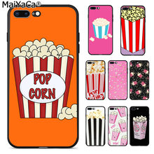 Maiyaca Indah Garis Popcorn Baru Fashion Ponsel Case PENUTUP UNTUK iPhone 11 Pro 8 7 66S Plus X 5S SE X XR X Max Cover(China)
