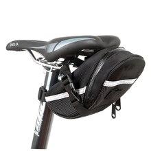 Открытый Водонепроницаемый велосипед Велоспорт Горный велосипед заднее сиденье нейлоновая седельная сумка велосипедная сумка для велосипеда задняя Сумка Черный