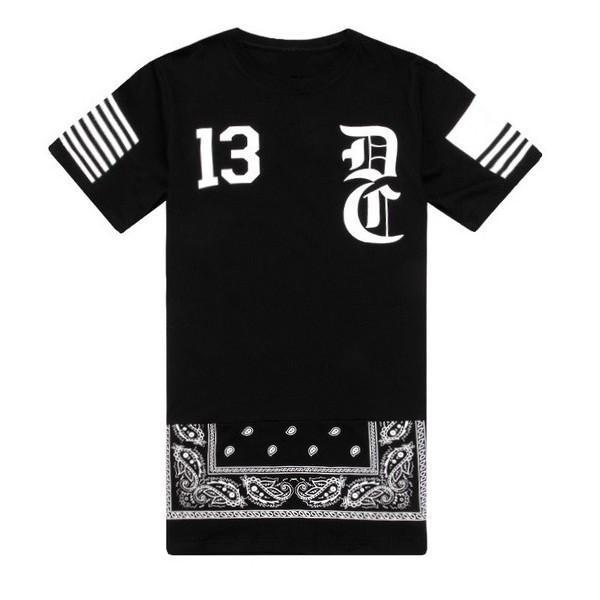 Sales ! No 13 hip hop cool men brand t shirt black white design ...