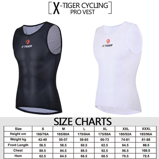 X-Tiger Vélo Maillots Garder Au Sec Maille Vêtements de Cyclisme Mountain Road VTT Vélo Jersey Sports de Plein Air Descente Jersey Base couche