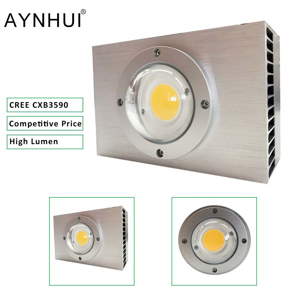 AYNHUI 2019 Spider Eshine Systems Full Spectrum Crees Cxb3590 Hydroponic Cob Led Grow Light