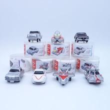 Anime 1/16 Scale Painted Figure Ultraman Cars 7pcs/set Mini Action Figures Inertia Carriages PVC figure Toys Brinquedos 5CM