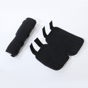 Image 5 - 2PCS/pair Dog Kneelet Pet Leg Knee Hock Brace Straps Protection Dog Bandages Wrap Medical Supplies Dogs Pad Therapeutic Support