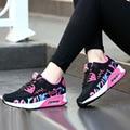 2016 nova moda flats mulheres perder peso de fitness health respirável sapatos casuais ao ar livre sapatos casuais