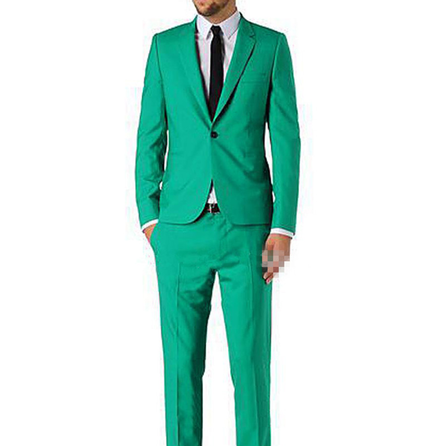 Style D'affaires Made Nouveau Cran Slim 2017 Costume De Fit Blazer custom Vert Picture veste Same Pantalon Button As Hommes Color Veste Sur Fait One Commande Revers Mode dqUxz4nq