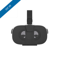 New FIIT VR 3D Virtual Reality Video Helmet VR Glasses For 4 0 6 5 Inch