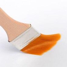 Деревянные нейлоновые волосы кисточки для смазывания выпечки Приготовление выпечки приправа кисти для мяса масло для барбекю Кухонные инструменты