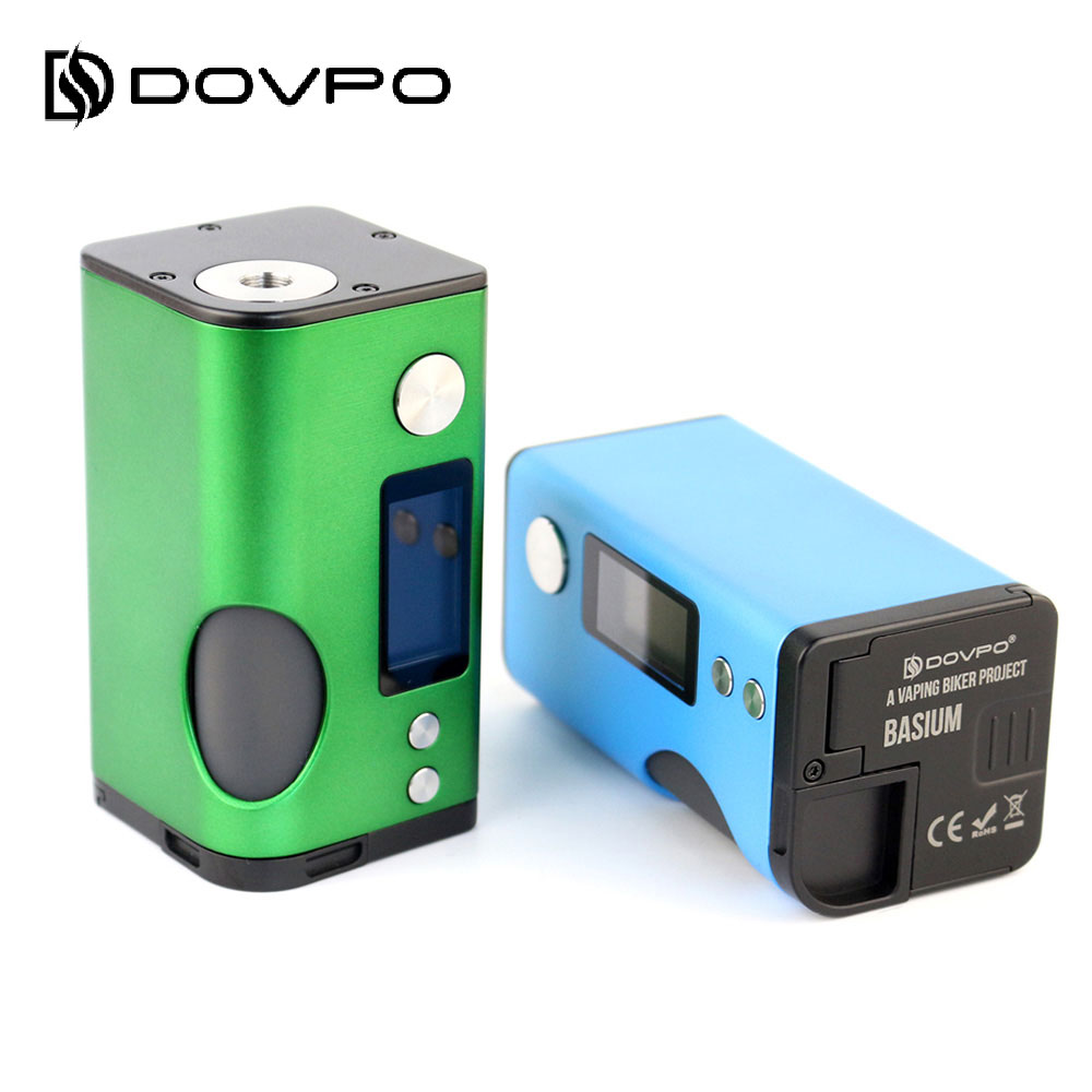 New Dovpo Basium VV Squonk MOD with Tri buttons Control 6ml Squonk Bottle No 18650 Battery