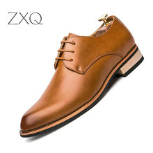 Men Shoes Split Leather Comfortable Men Casual Shoes Footwear Chaussure Flats For Men Lace Up Shoes Zapatos Hombre цена