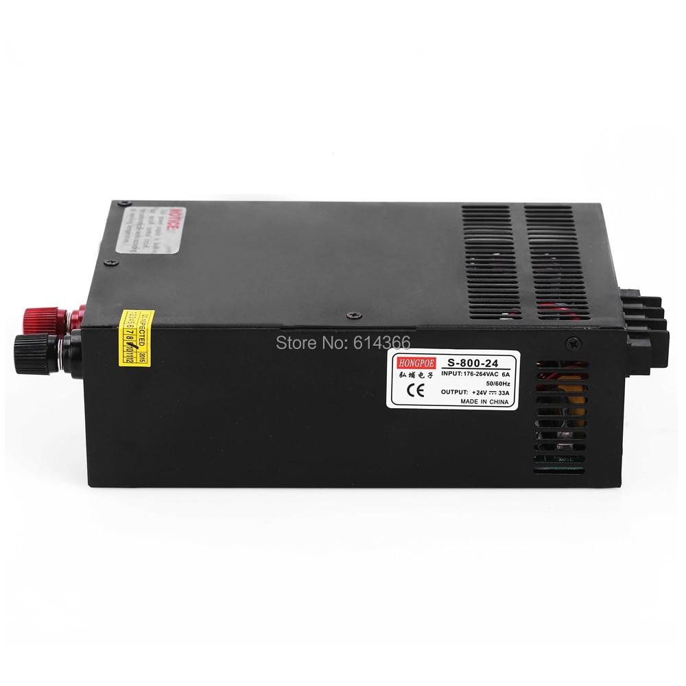 1PCS 12V 66A 24V 33A 36V 22A 48V 16.5A 800W Switching Power Supply Driver for LED Strip AC-DC Industrial grade винт 4 8 m3 20 22 24 27 30 33 36 1