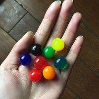 25pcs/lot 45-60mm Pearl Shape Hydrogel Gel Orbits Growing Water Balls Multicolor Orbizi Water Beads Orbiz Ball SJ13-15mm