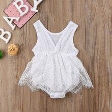 Tutu Bodysuit Dress Summer Clothes 0-18M