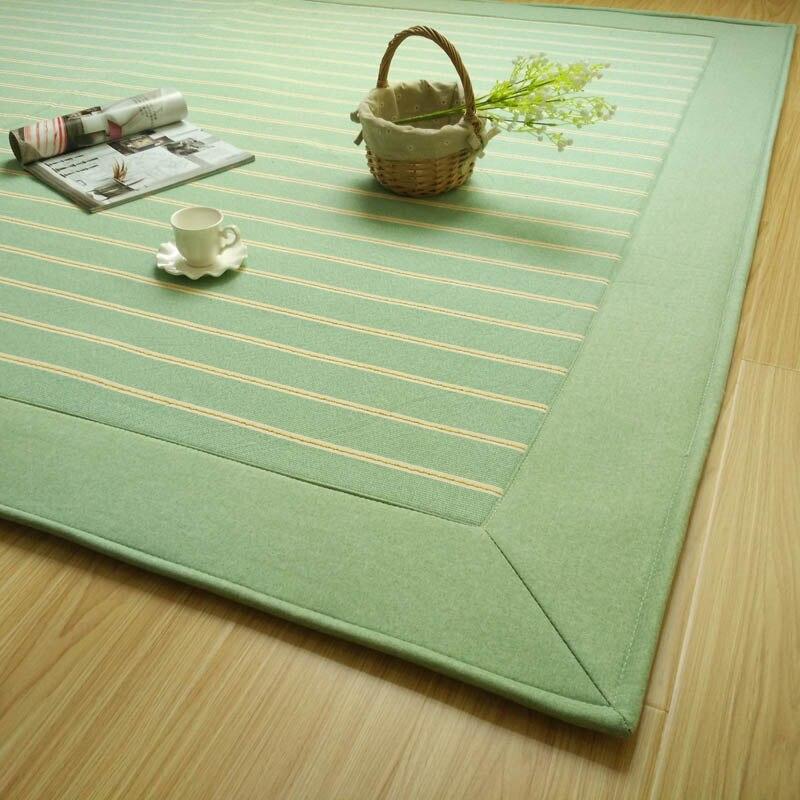 FM35 Japanese Floor Mattress Pad Large 2 Size 180/230cm Kotatsu Futon Mat Portable Tatami Fashion Bedroom Foam Rug Designer