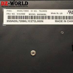 Image 3 - New/Orig US English Backlit Keyboard for Lenovo Thinkpad T470 T480 A475 A485 Backlight Teclado 01AX569 01AX487 01AX528 01HX419