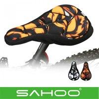 Super Sale MTB Road Breathable SAHOO Cycling Bike Saddle Comfortable Silicone Gel Cushion Soft Pad Bicycle