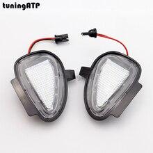 2x LED Unter Seitenspiegel Pfütze Lichter für Volkswagen VW Golf Mk6 Golf 6 GTI Golf 6 Cabrio Touran Mk1