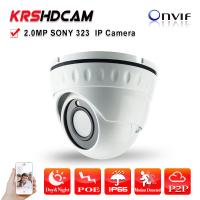 1 3 SONY Full 1080P 24IR Indoor Vandalproof IR Dome Indoor IP Camera High Resolution Onvif