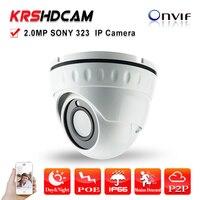 1 3 SONY Full 1080P 24IR Indoor Vandalproof IR Dome Indoor IP Camera High Resolution Onvif