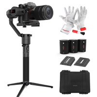 MOZA AirCross 3 Axis Handheld Gimbal For Mirrorless Load 1800g Parameter Auto Tuning Long Exposure Time
