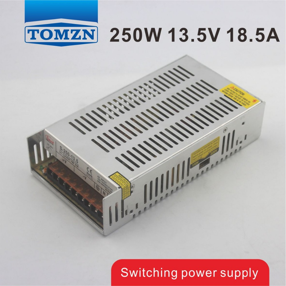 цена на 250W 13.5V 18.5A Single Output Switching power supply for LED Strip light AC to DC