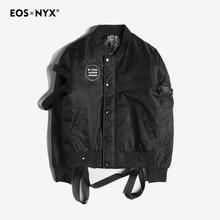 Eosnyx MA1 Bomber Jacket Mens Cotton-Padded Winter Coat Male Jaqueta Masculina Casual