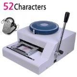 Бесплатная доставка! Гарантия 100% новое 52D PET tag Embosser, руководство бирка собаки тиснения машина, стали тиснением машина 52 символов