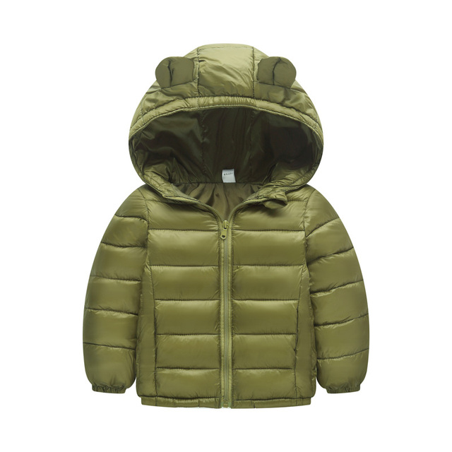 2019 Autumn Winter Warm Jackets For Girls Coats For Boys Jackets Baby Girls Jackets Kids Hooded Outerwear Coat Children Clothes