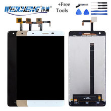 WEICHENG 100% Tested For Oukitel K6000 Pro LCD Display and Touch Screen Digitizer Assembly for k6000 pro+Tools(China)