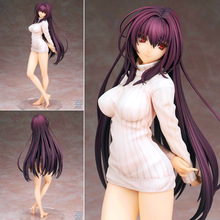 NEW hot 22cm Fate Grand Order Fate Grand Order Servant Scathach Home clothing action figure toys