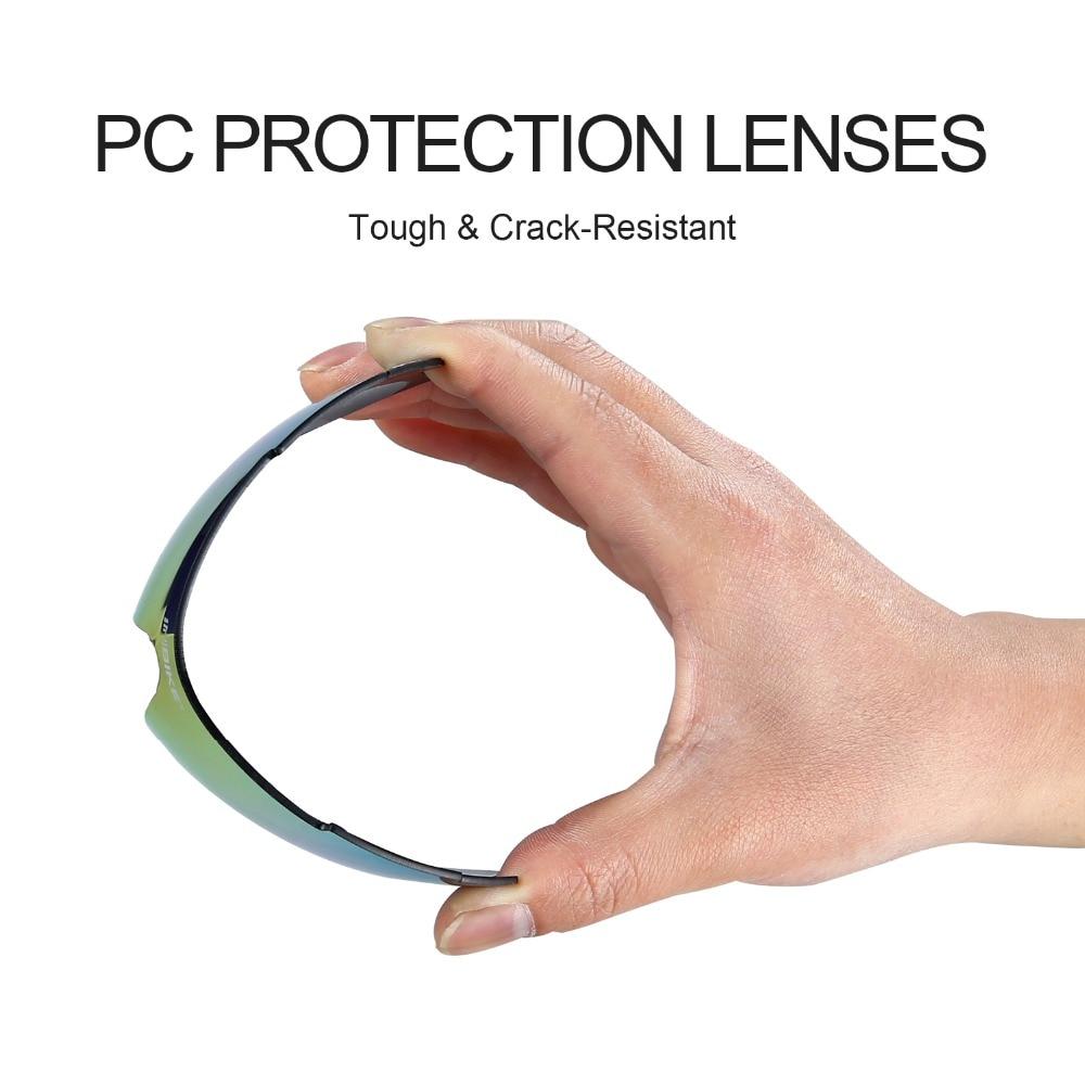 INBIKE Cycling Glasses UV Proof Polarized 5 Lens Frame Eyewear Bike Bicycle Sun Glasses Outdoor Sport Goggle Drive Sunglasses