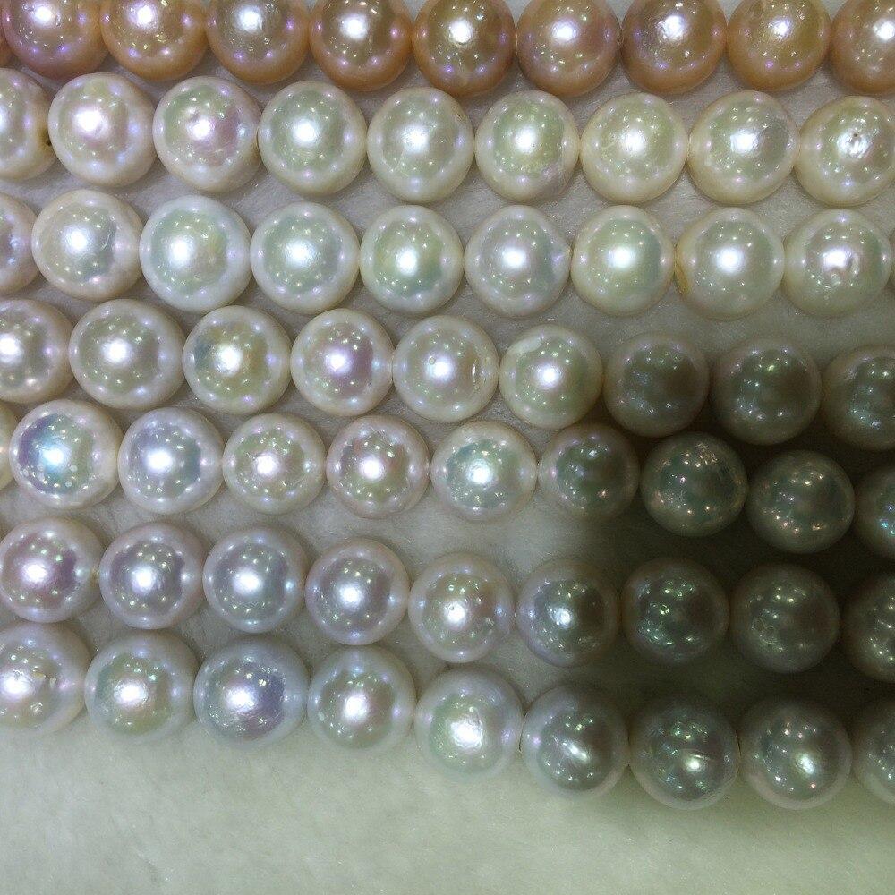 100% natur süßwasser perle material mit runde form - 2
