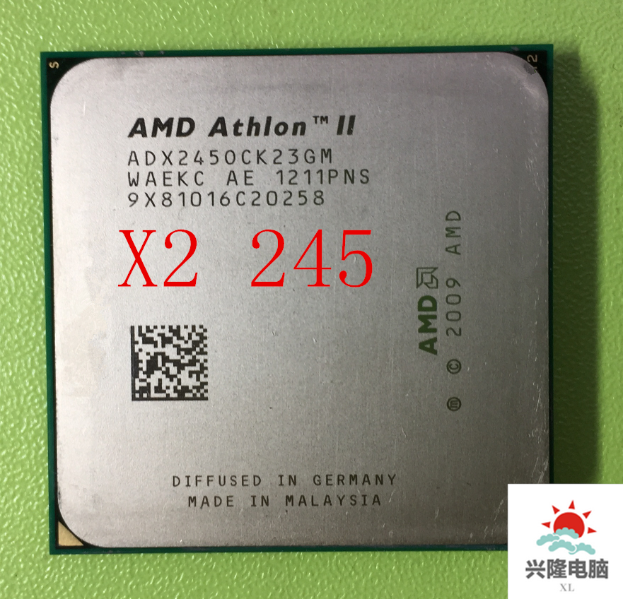 For AMD Athlon II X2 245 Processor 29GHz 2MB L2 Cache