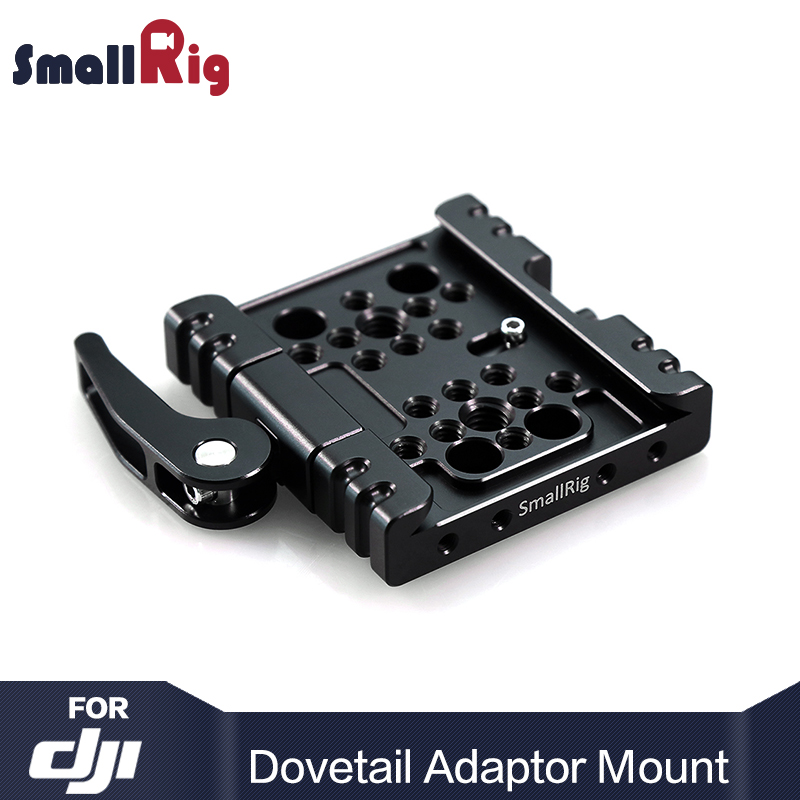 SmallRig Camera Dovetail Adapter Mount For DJI Ronin, Quick Release Baseplate for Tripod Monopod - 1759