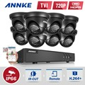 ANNKE 720P 8CH 1080P HDMI Surveillance Kit 8pcs 1200TVL HD 1.0MP CCTV IR Outdoor Waterproof home Security Cameras CCTV System