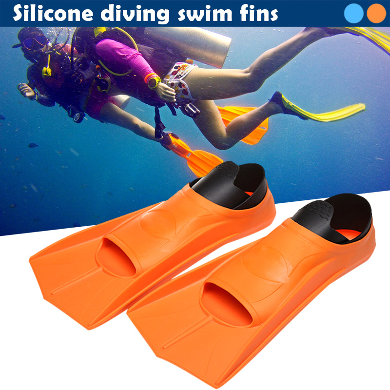 1 Pair Professional Swimming Fins Lightweight Snorkelling Fins Diving Equipment Snorkeling Rubber Diving fins