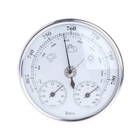 Wall Mounted Household Thermometer Hygrometer High Accuracy Pressure Gauge Air Weather Instrument Barometers