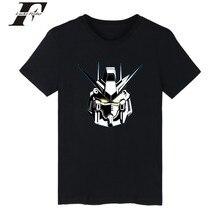LUCKYFRIDAYF harajuku Japanese Gundam YX 5 fitness anime T-shirt men/women funny t Shirts Plus size GUNDAM Model Printed shirt