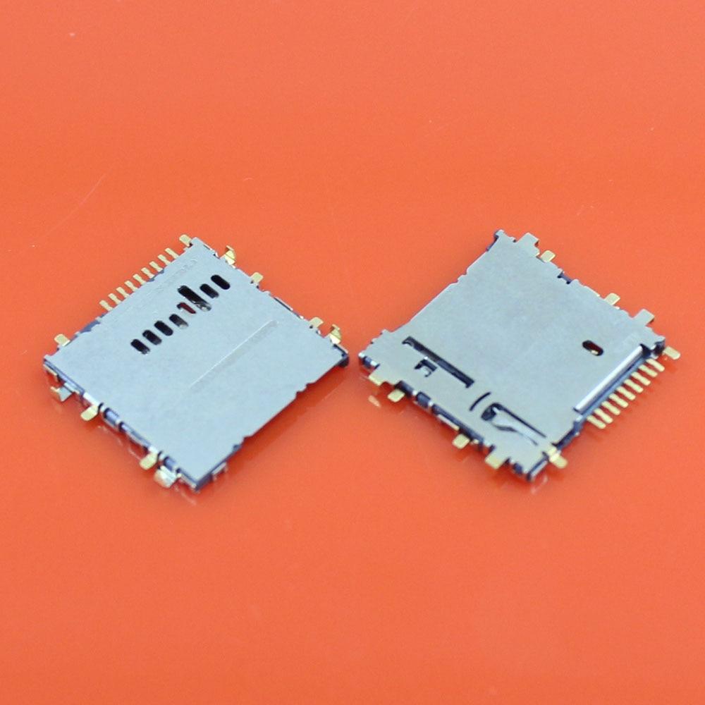 Jing Cheng Da 10pcs/lot new memory Card Reader Holder Slot For samsung Tab 3 8.0 T311 T210 T211 T310 T315 T111