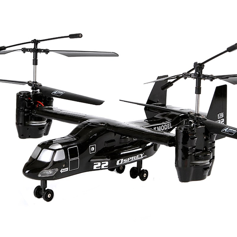 RC Helicopter Osprey V22 Airforce Electronic-Toy Infrared-I/R Plane Remote-Control Usb-Rtf