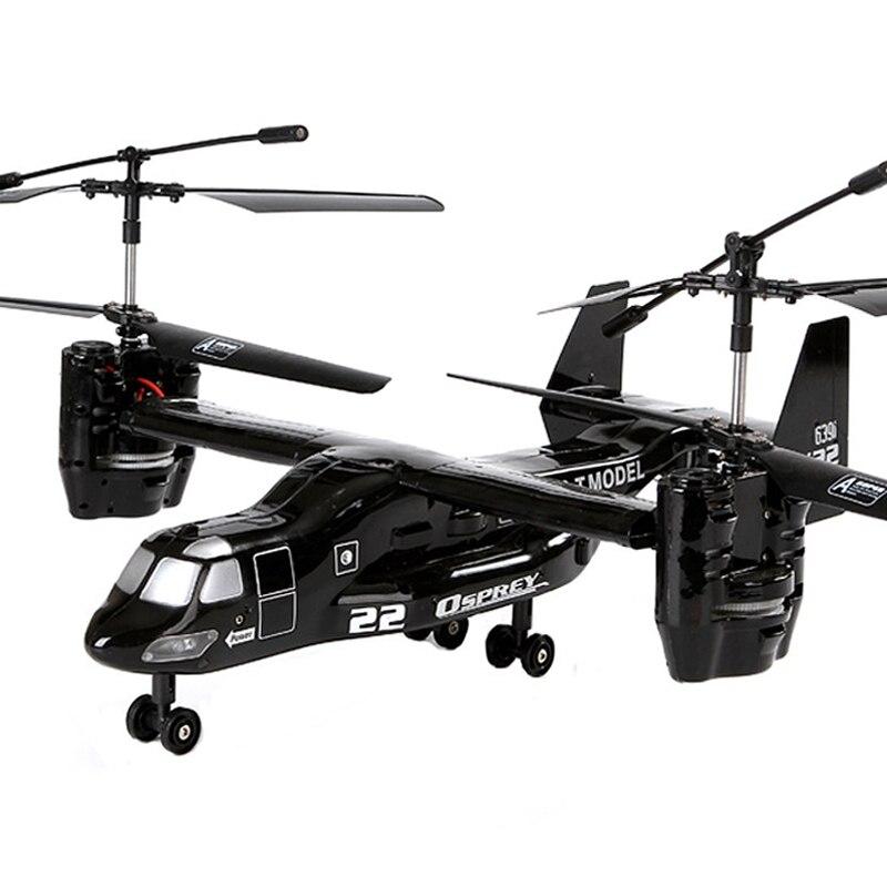 RC Hubschrauber US Airforce Osprey V22 2,4g Super Robustheit infrarot I/R Fernbedienung Flugzeug W/Gyro USB RTF Elektronische Spielzeug