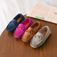 2020 Kids Casual Shoes Fashion Children Boys Girls Loafers Solid Color