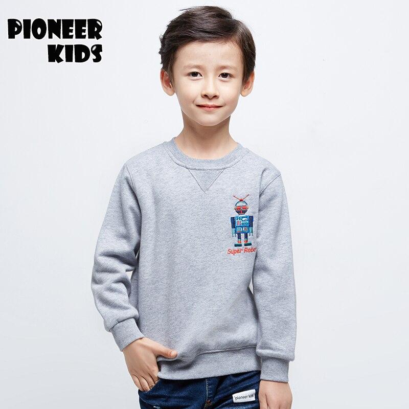 Pioneer Kids 2016 Children's Clothing Boys Clothes sweatshirt Clothing Fashion Autumn Boys sweatshirt kids Cotton Tracksuit.